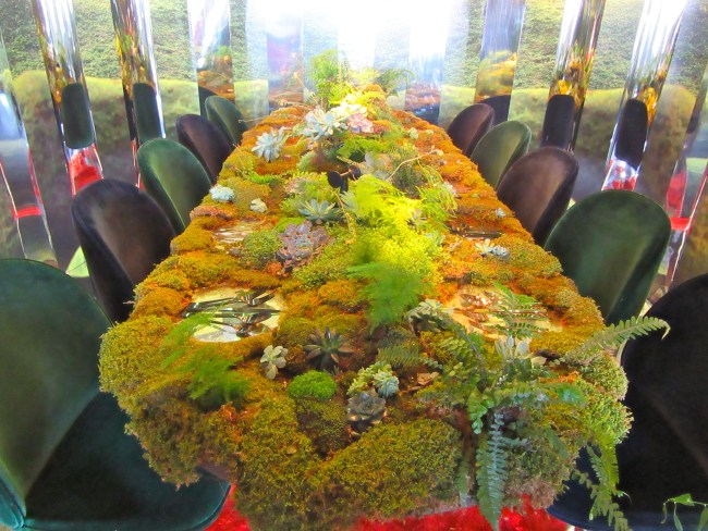 Moss Covered Table