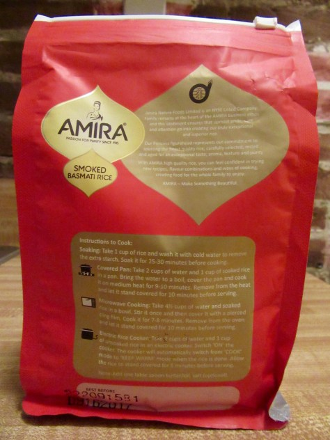 Amira Smoked Basmati Rice