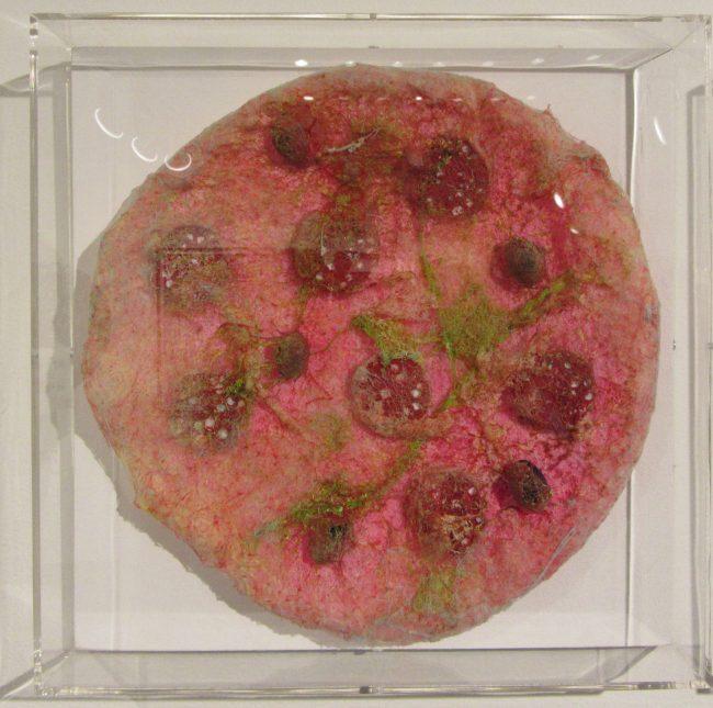 Untitled Pink Pizza By Stefan Gross