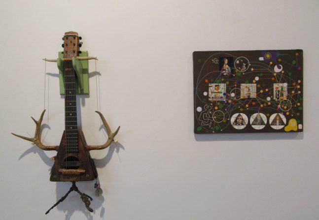 Mandolin and Painting