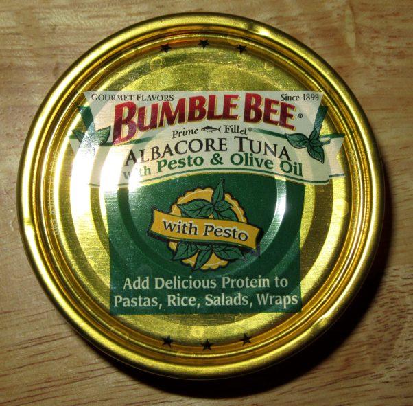 Pesto Tuna in Olive Oil