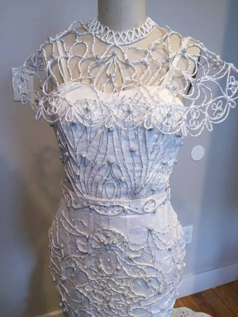 Wedding Dress Winner Detail