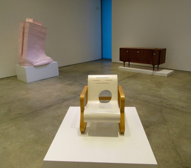 Installation View With Ethics Demonstrated in a Geometrical Way
