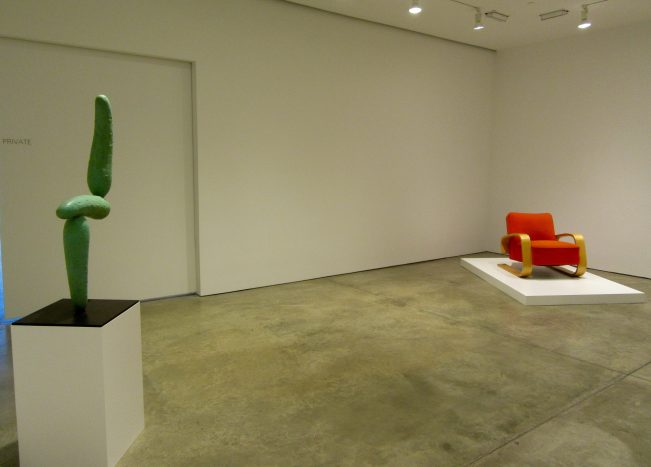 Installation View with Spaceship to Venus