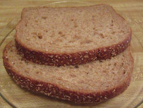 Rudi's Whole Wheat Bread Detail