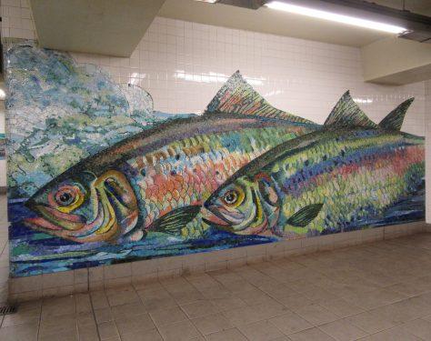 Fish Tile Mosaic