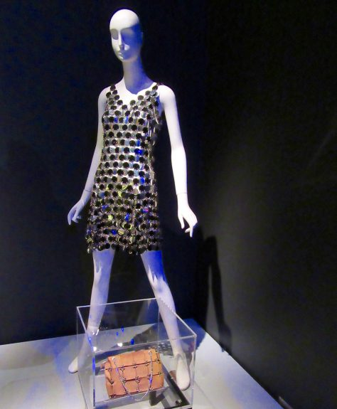Paco Rabanne Dress 1966 Installation View