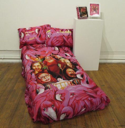 Pink Flamingos Bed Sheets