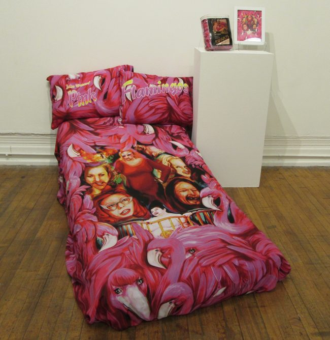 Pink Flamingos Bed Sheets