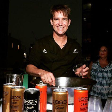 Bartender Rob Floyd