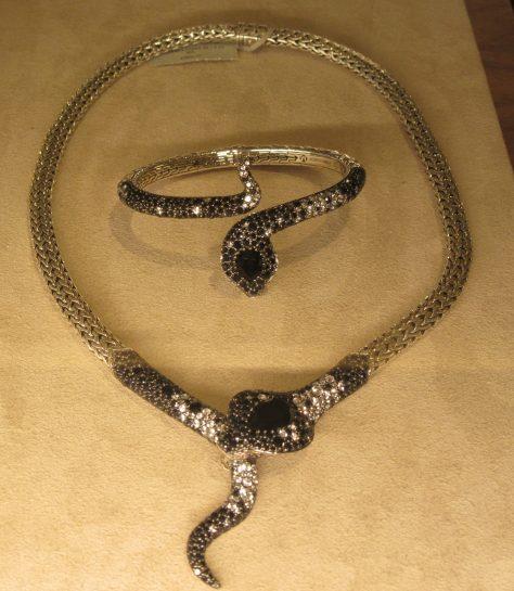 Legends Cobra necklace and Bracelet