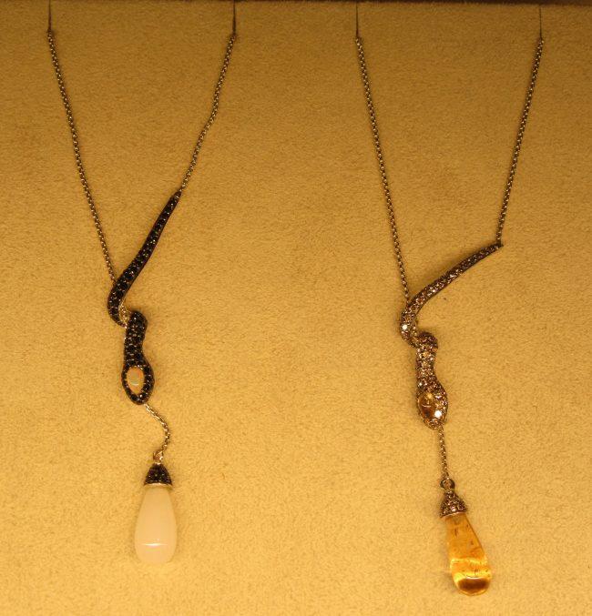 Legends Cobra Drop Necklace