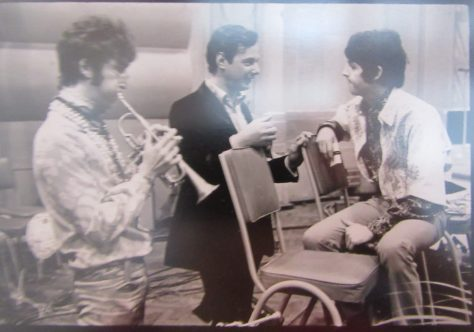 John and Paul with Brian