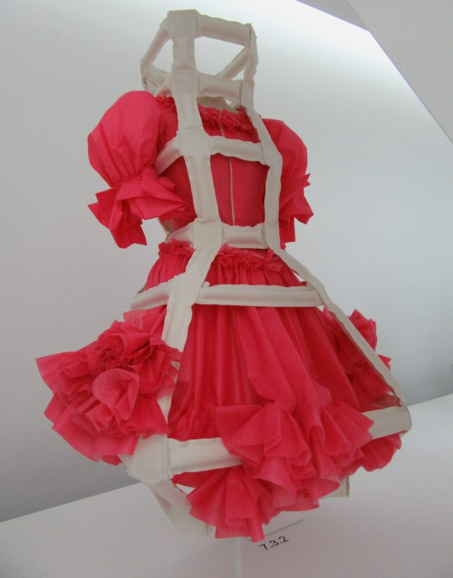 Pink Dress with Brace