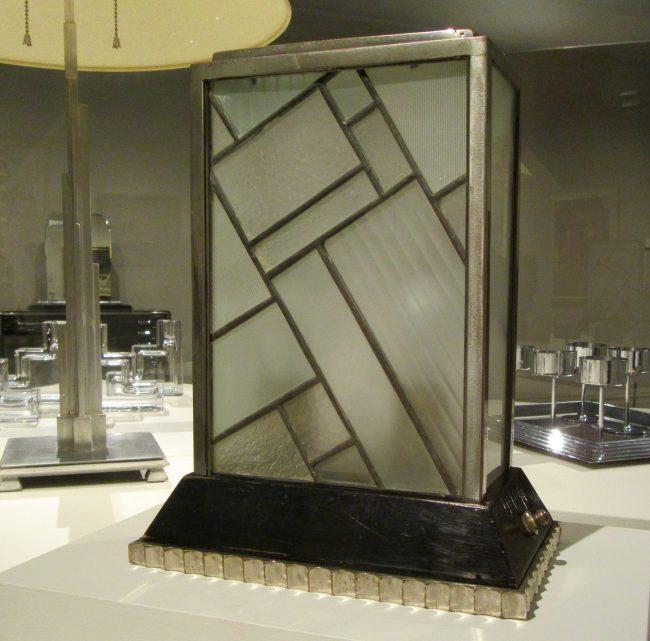 Donald Deskey Art Deco Lamp