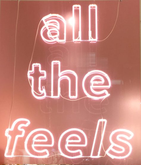 All The Feels Pink Neon Sign