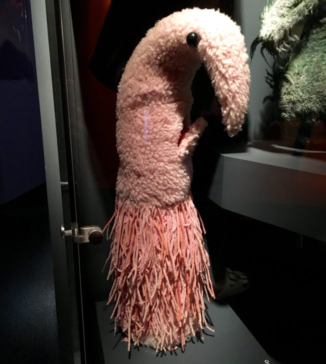 Pink Stalk Puppet