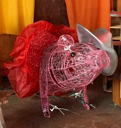 Wicker Pig