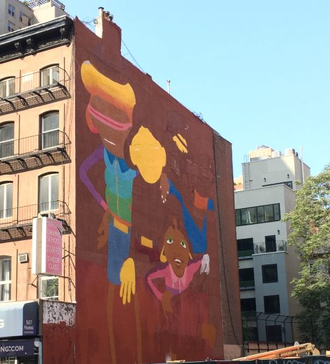 Os Gemeos Mural Western Face Week of Sept 9