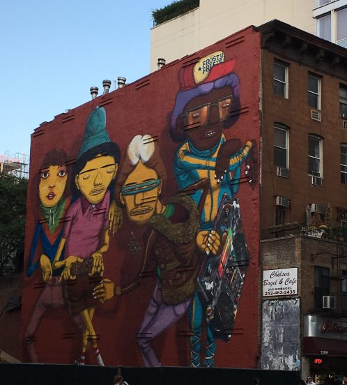 Os Gemeos Mural Eastern Face Week of Sept 23