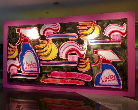 Bananas and Windex