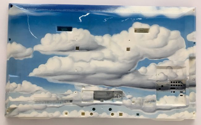 TV Bax Sky with Clouds