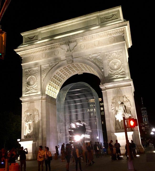 Washington Square Arch Street to Park View