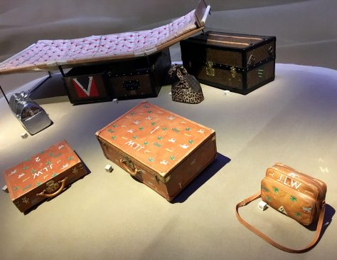 LV Bags Installation View