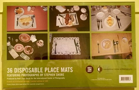 Place Mats by Steven Shore