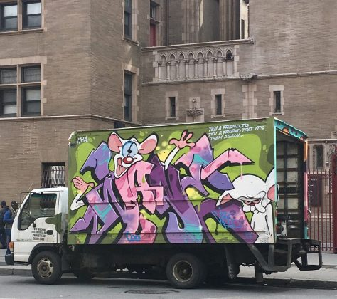 Pinky and The Brain Box Truck
