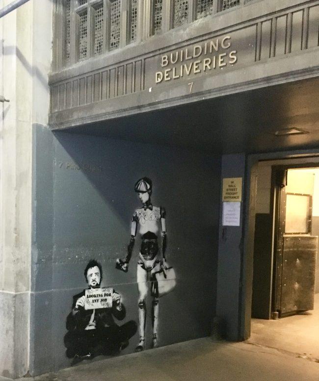 Banksy Entrance