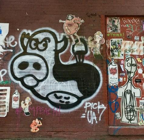 Legless Cow Mural