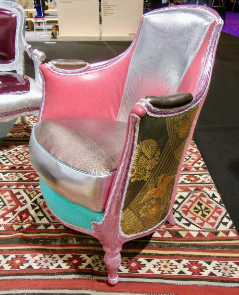 Exclamation-ized French Art Deco Arm Chair