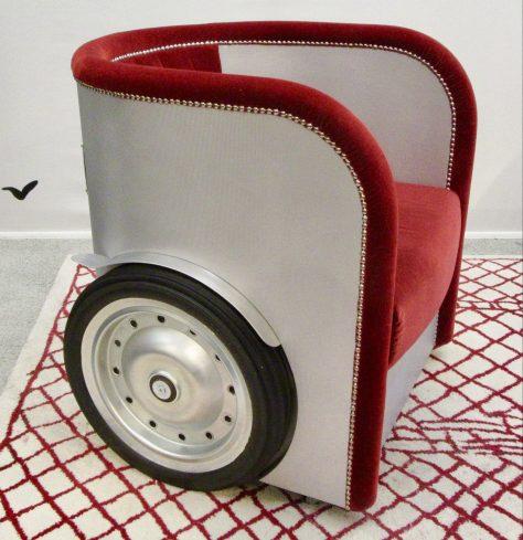 Ben Hur Chair By Jean Paul Gaultier Left Front