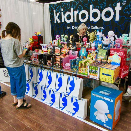 Kidrobot Booth