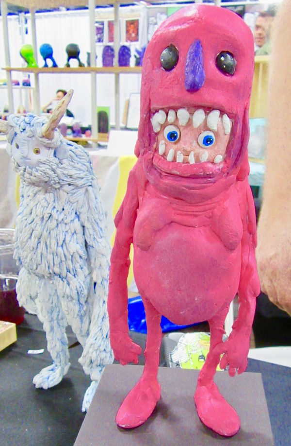 Lonely Monster Toys By Elliot Lobell