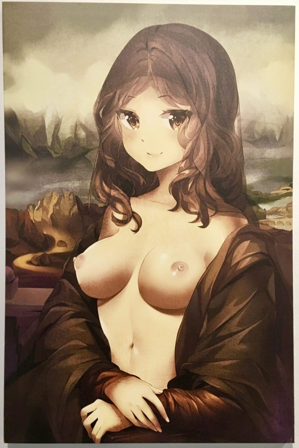 Mona Lisa by SquChan