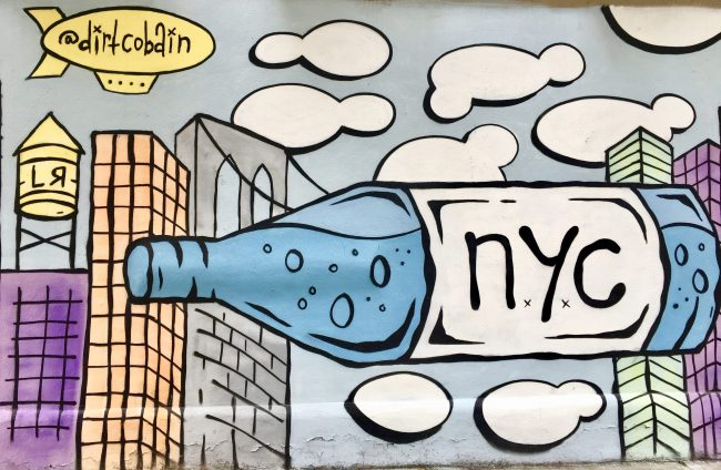 NYC Mural By Dirt Cobain