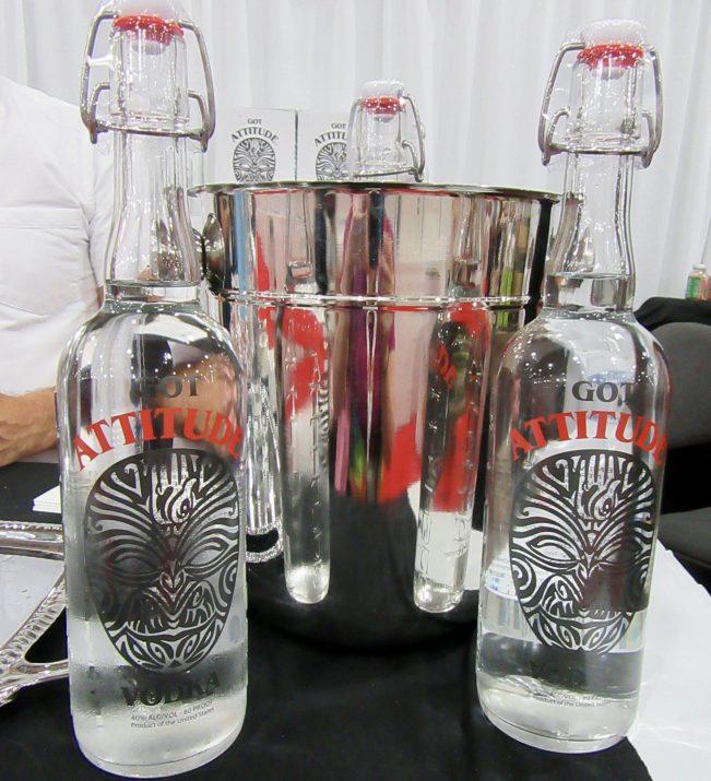 Attitude Vodka Bottles