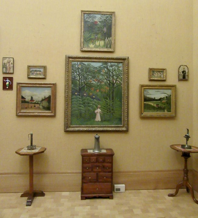 Gallery with Furniture