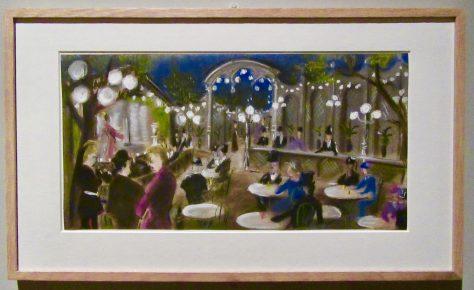 Jen Renoir Film Sketch By Jean Andre