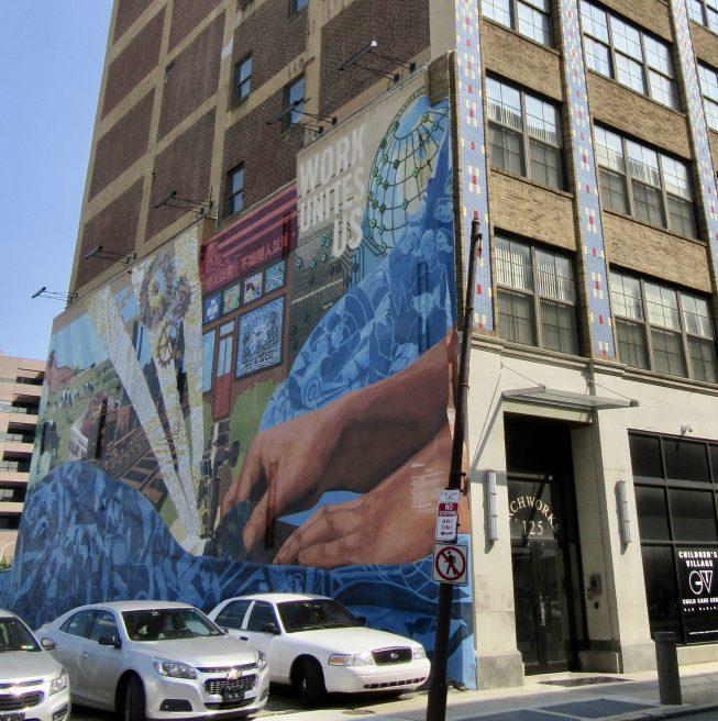 Work Unites Us Mural