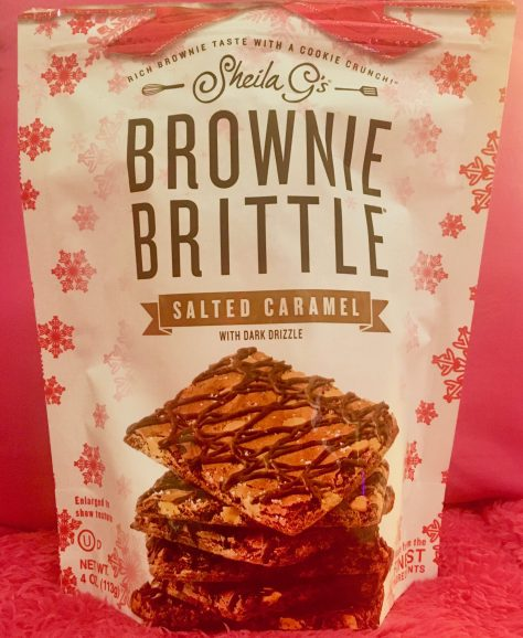 Salted Caramel Brownie Brittle Bag