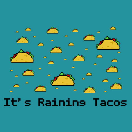 Its Raining Tacos Detail