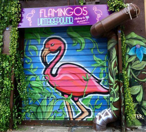 Flamingos Vintage Pound