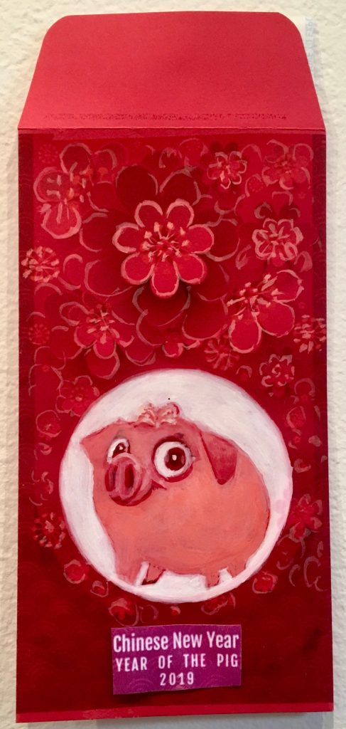 New Years Pig By Frank Chang