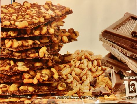 Cookie Brittle with Crisped Rice
