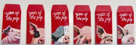 Pigs By Kathy Ferguson