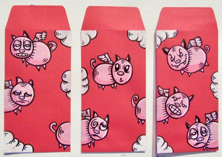 Flying Pigs By JosL J0sL