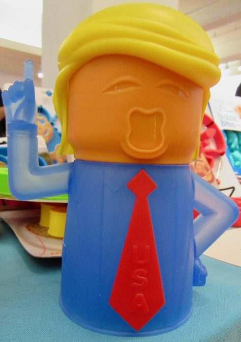 Angry POTUS Microwave Cleaner